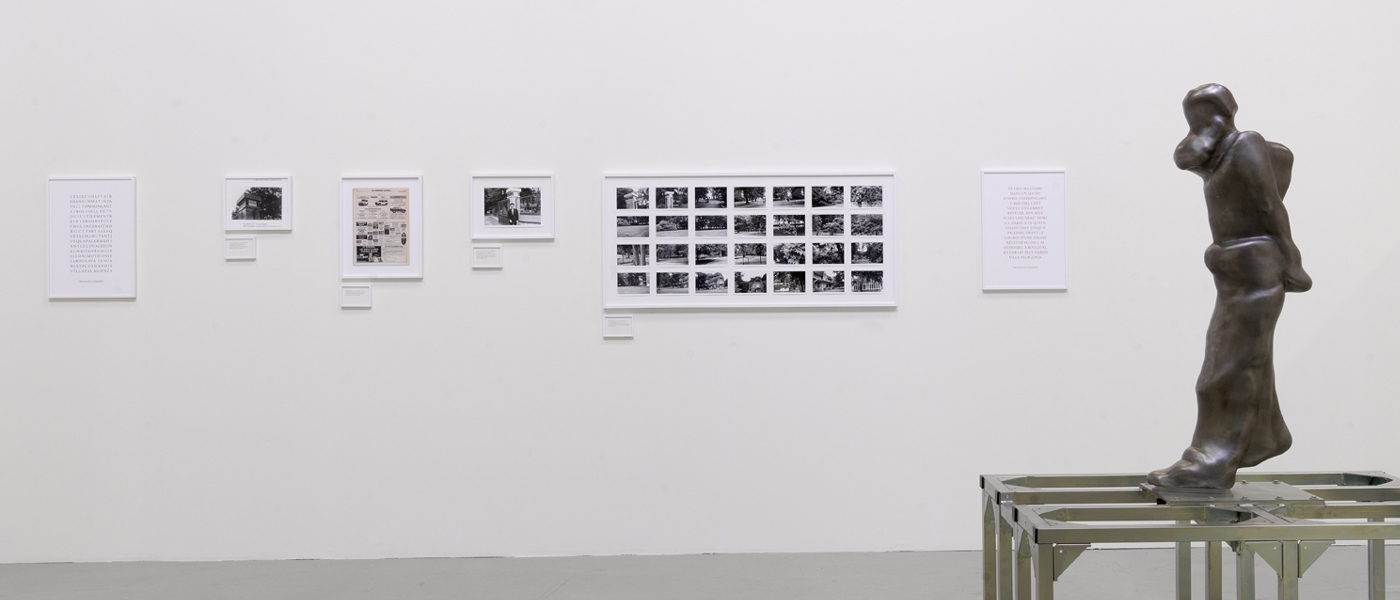 Locus Solus, 1992-2012. Photographic and documentary installation.